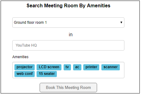 Free Conference Room Booking Software Hubbion
